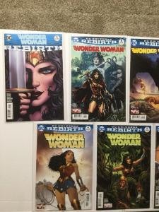 Wonder Woman Rebirth 1 1 2 3 4 5 6 7 8 9 10 11 12 13 Nm Near Mint IK