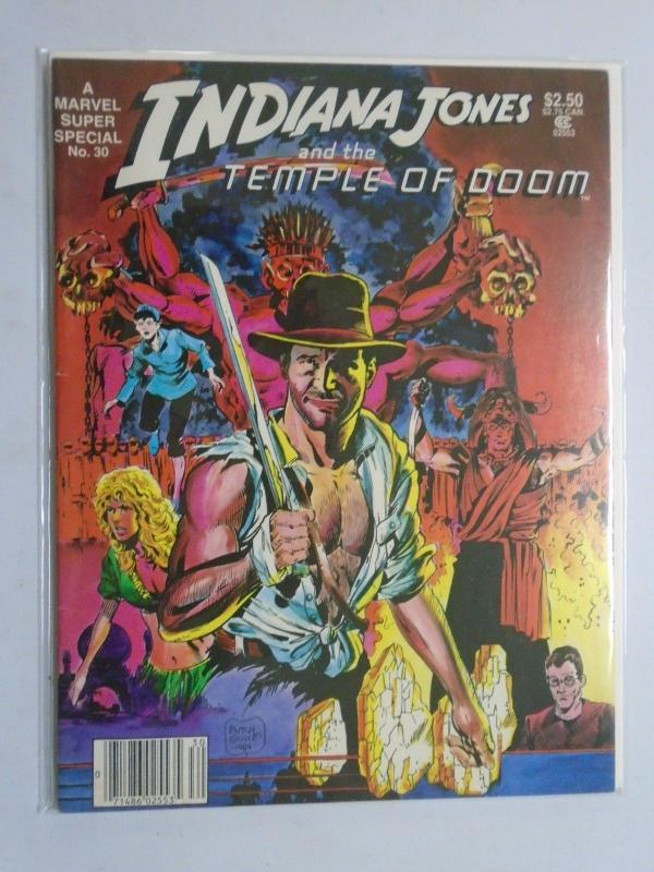 Marvel Comics Super Special #30 - Indiana Jones - 7.0? - 1984