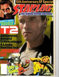 Starlog # 168 July Magazine Star Trek Star Wars Terminator Lost In Space J292