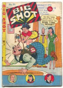 BIG SHOT #91 1948- Skyman- Sparky Watts G