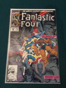 Fantastic Four #347 starring The New Fantastic Four!