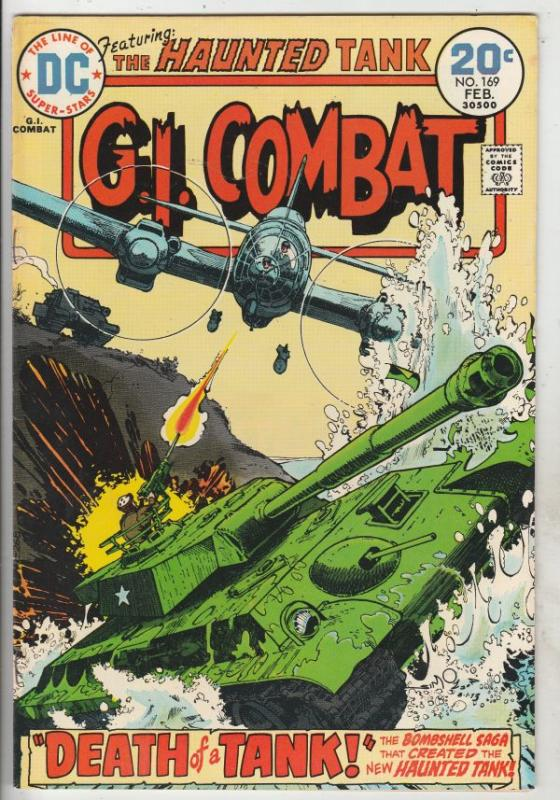 G.I. Combat #169 (Feb-74) VF/NM High-Grade The Haunted Tank