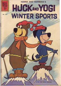 Four Color #1310 (Mar-62) FN- Mid-Grade Huckleberry Hound, Yogi Bear