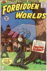 FORBIDDEN WORLDS 141 F+  Jan.-Feb. 1967 COMICS BOOK