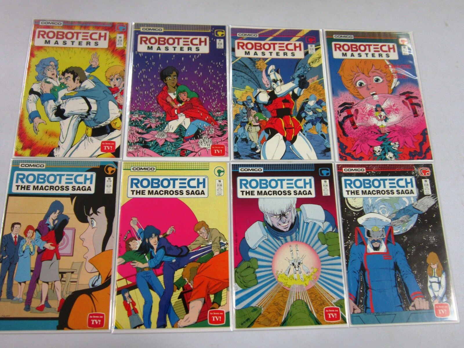 Robotech The New Generation #9 FN 1986 Stock Image