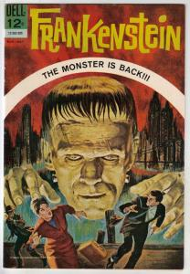 Movie Classic Frankenstein #12-283-305 (Mar-63) VF/NM High-Grade Frankenstein