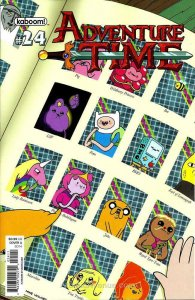 Adventure Time #24A VF/NM; Boom! | save on shipping - details inside