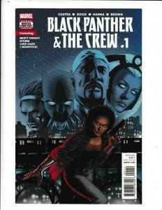 THE BLACK PANTHER AND THE CREW#1  VF/FN   MARVEL COMICS