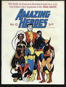 AMAZING HEROES 1-200, 20-Different, Comics Industry