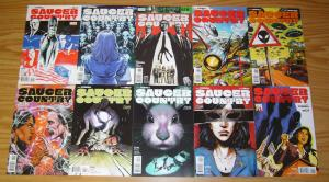 Saucer Country #1-14 VF/NM complete series - alien abduction/political thriller