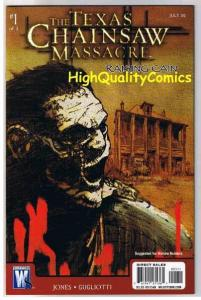 TEXAS CHAINSAW MASSACRE #1, Raising Cain, NM+, Horror, 2008, more in our store