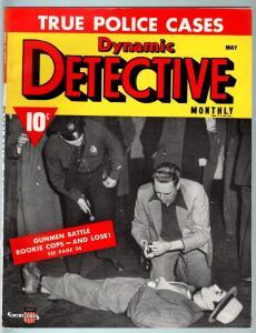 DYNAMIC DETECTIVE-1941 MAY-PULP TRUE CRIME-SEX CRAZED SLUGGER-VF VF