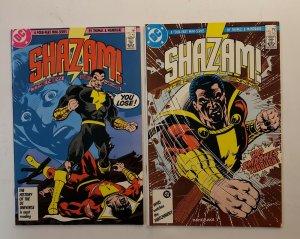 SHAZAM THE NEW BEGINNING #1-4 COMPLETE SET DC COMICS 1987 VF/NM