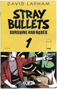 STRAY BULLETS : Sunshine & Roses #1, NM, David Lapham, 1st, 2015, more in st