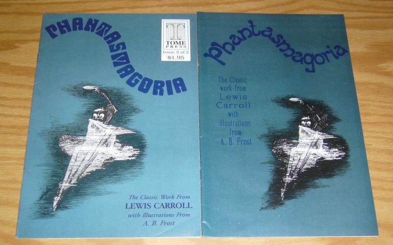Lewis Carroll's Phantasmagoria #1-2 VF- complete series - tome press comics set