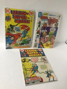 Legion Of Super-heroes 1 2 3 Bronze Age 8.0 Vf Very Fine A22