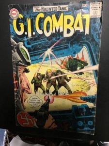 G.I. Combat #106 (1964) affordable grade, haunted tank key! VG