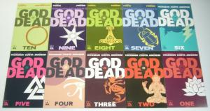 Jonathan Hickman's God is Dead #1-48 VF/NM complete series + book of acts 1-2