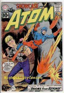 SHOWCASE #35, VG+/FN, 2nd Atom, Gil Kane, Fox, Murphy Anderson,