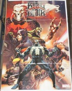 King in Black #1 poster - 36 x 24 - KNULL - Venom - Marvel - Ryan Stegman art