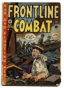 FRONTLINE COMBAT #10 Brutal Crying Child cvr 1953-EC-NAPOLEON-ANZIO