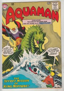 Aquaman #9 (Jun-63) VF+ High-Grade Aquaman, Aqualad
