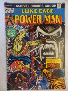 LUKE CAGE POWER MAN # 19 FIRST COTTON MOUTH