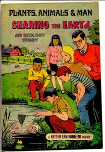 Sharing The Earth - Plants, Animals & Man-1974-Soil Conservation Society-VG