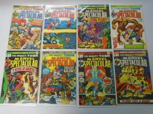 Marvel Spectacular lot 15 different Thor comics from #1-19 avg 4.0 VG (1973-75)