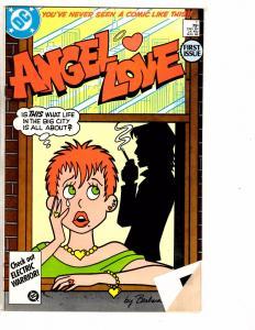 Lot Of 8 DC Comics Angel & The Ape # 1 (2) 2 3 + Angel Love # 1 2 3 4 J222