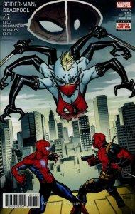 Spider-Man/Deadpool #17 VF/NM; Marvel   save on shipping - details inside