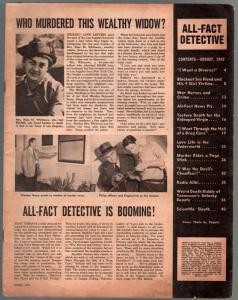 All-Fact Detective #2 8/1949-exploitation-drug addiction-war nerves-FR