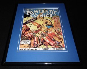 Fantastic Comics #3 Samson Framed Cover Photo Poster 11x14 Official RP
