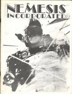Nemesis Incorporated #16 1983-SHADOW-SECRET AGENT X-OPERATOR #5-DOC SAVAGE-PULP