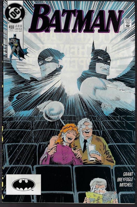 Batman #459(DC, 1991) NM