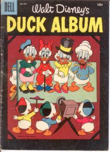DUCK ALBUM F.C. 686 VG 1956 COMICS BOOK