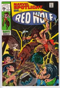 Marvel Spotlight on Red Wolf #1 (Nov-71) NM- High-Grade Red Wolf, Lobo