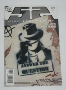 52 Week #48 1st Appearance of Renee Montoya as The Question 2007 DC Comics VF
