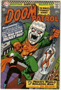 DOOM PATROL 107 VG+    November 1966 COMICS BOOK