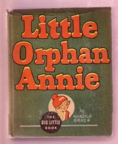 LITTLE ORPHAN ANNIE, PUNJAB THE WIZARD, 1935, #1162 BLB FN/VF