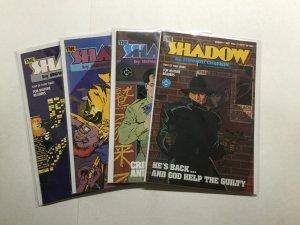 The Shadow 1-4 1 2 3 4 Lot Run Set Near Mint Nm Dc Comics