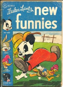 New Funnies #118 1946-Dell-football cover-Li'l Eight Ball-African-American-FR/G