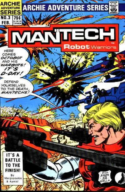 Mantech Robot Warriors #3 VF/NM; Archie | save on shipping - details inside