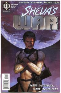 SHEVA'S WAR #1 2 3 4 5, NM, Christopher Moeller, 1998, Sci-Fi, 1-5 set