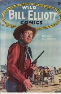 WILD BILL ELLIOTT #3 PHOTO COVER - EGYPTIAN COLLECTION VG