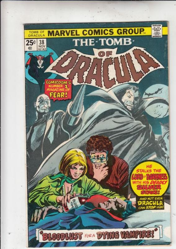 Tomb of Dracula #38 (Nov-75) VF/NM- High-Grade Dracula