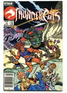 Thundercats #2 DC comic book 1985-  cartoon comic book