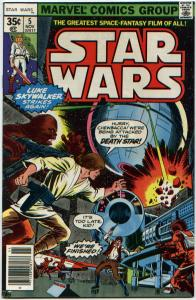 Star Wars #5 NM 9.6  A New Hope movie ORIGINAL OWNER - NEVER READ PERFECT!