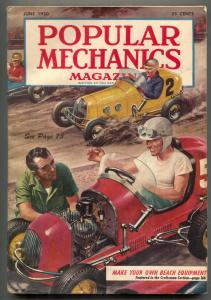 Popular Mechanics June 1950- 3/4 Midget racing cars!!!!