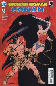 WONDER WOMAN CONAN #2, VF/NM, Lopresti, 2017, more DC in store